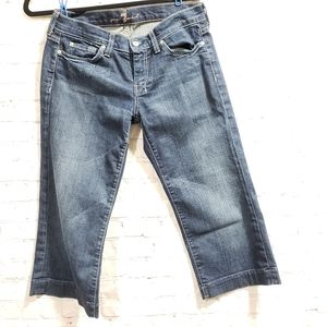 7 for all Mankind Cropped Dojo's